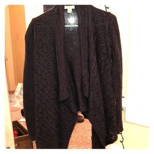 Loft Dark Gray cardigan